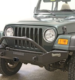 rock hard 4x4 8482 patriot series full width front bumper w receiver for [ 1200 x 800 Pixel ]
