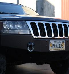 rock hard 4x4 8482 patriot series front bumper for jeep grand cherokee wj 1999 2004 rh 7052  [ 1200 x 800 Pixel ]
