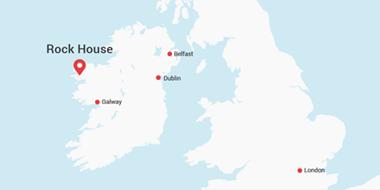 Carte Rock House Estate Irlande