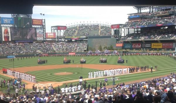 My Colorado Rockies Opening Day Experience