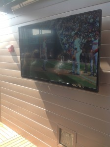 Flat Screen TV - The Rooftop - Coors Field
