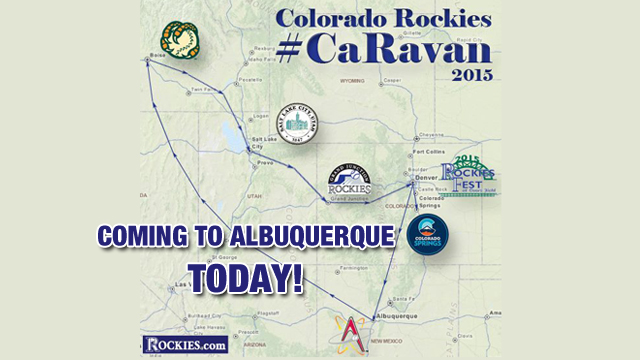 Rockies Caravan: From Albuquerque to Scottsdale