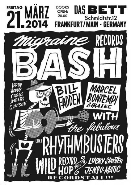 Migraine Records Bash 2014