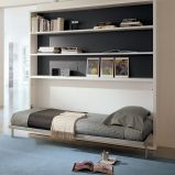 Saving space with creative folding bed ideas 33