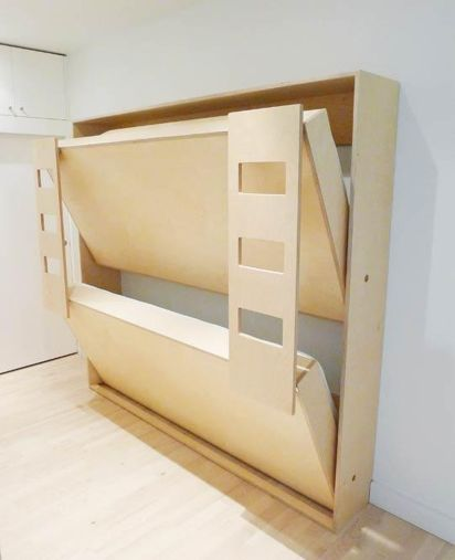 Saving space with creative folding bed ideas 36