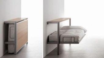 Saving space with creative folding bed ideas 9