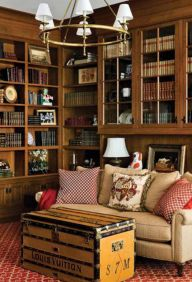Home Library Design and Decorations Ideas 17