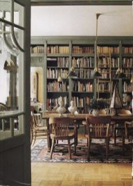 Home Library Design and Decorations Ideas 23