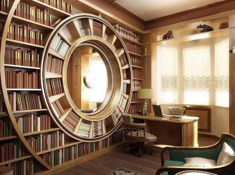 Home Librariiee Design and Decorations Ideas 8