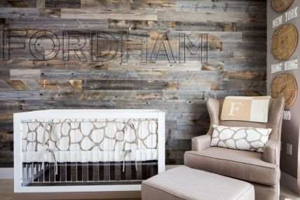 Artistic Pallet, Peel and Stick Wood Wall Design and Decorations 46
