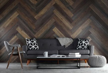 Artistic Pallet, Peel and Stick Wood Wall Design and Decorations 51