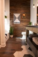 Artistic Pallet, Peel and Stick Wood Wall Design and Decorations 59