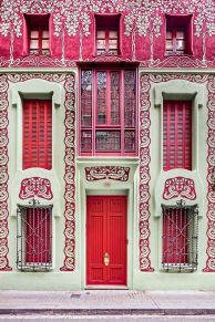 Beautiful art nouveau building architecture design 3