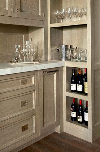 Corner bar cabinet for coffe and wine places 39