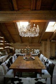 Glorious and Luxury Western Dining Room Design 6