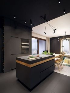 Modern and Contemporary Kitchen Cabinets Design Ideas 19