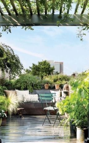 Amazing Rooftop Porch and Balcony Inspirations 1