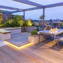 Amazing Rooftop Porch and Balcony Inspirations 39