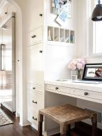 Awesome Built In Cabinet and Desk for Home Office Inspirations 31