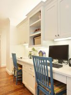 Awesome Built In Cabinet and Desk for Home Office Inspirations 64