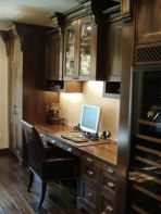 Awesome Built In Cabinet and Desk for Home Office Inspirations 65