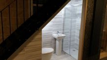Awesome Cool Ideas To Make Toilet Under Stairs 17