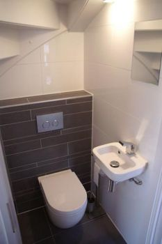 Awesome Cool Ideas To Make Toilet Under Stairs 22