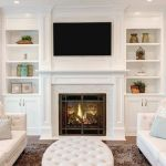 Brilliant Built In Shelves Ideas for Living Room 14
