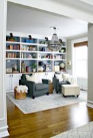Brilliant Built In Shelves Ideas for Living Room 3