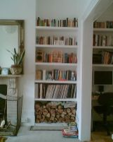 Brilliant Built In Shelves Ideas for Living Room 4