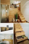Cool Loft Bed Design Ideas for Small Room 30