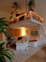Cool Loft Bed Design Ideas for Small Room 49