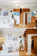 Cool Loft Bed Design Ideas for Small Room 50