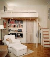 Cool Loft Bed Design Ideas for Small Room 73