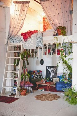 Cool Loft Bed Design Ideas for Small Room 8