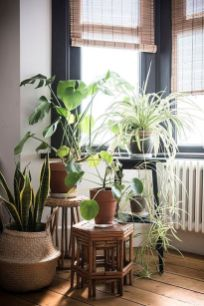 Cool Plant Stand Design Ideas for Indoor Houseplant 59