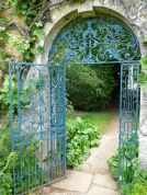 Fascinating Garden Gates and Fence Design Ideas 37