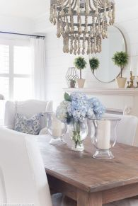 Spring Home Table Decorations Center Pieces 81