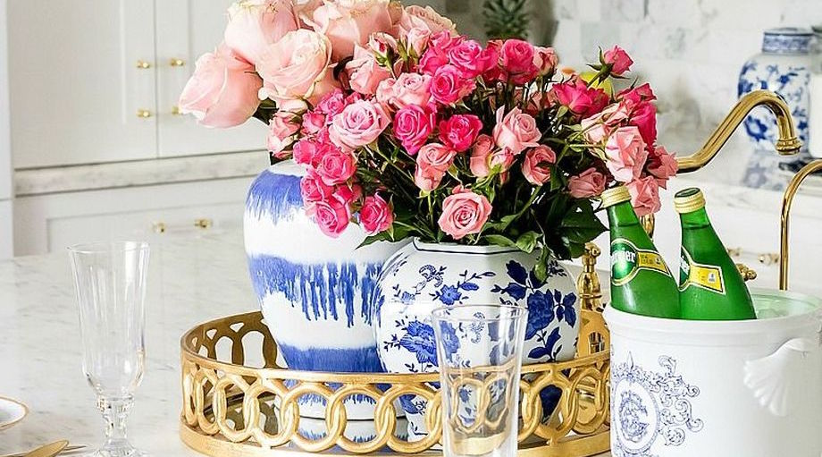 Spring Home Table Decorations Center Pieces