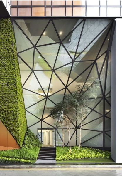 Stunning Glass Facade Building and Architecture Concept 18