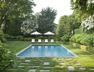 Stunning Outdoor Pool Landscaping Designs 10