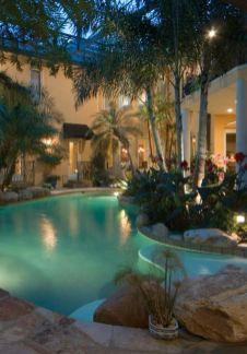 Stunning Outdoor Pool Landscaping Designs 24