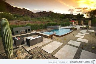 Stunning Outdoor Pool Landscaping Designs 37