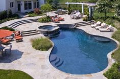 Stunning Outdoor Pool Landscaping Designs 8