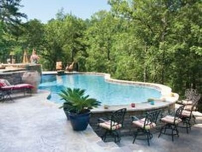 Stunning Outdoor Pool Landscaping Designs 91