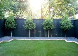 Stunning Privacy Fence Line Landscaping Ideas 20