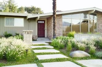 Modern and Contemporary Front Yard Landscaping Ideas 14