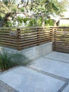 Modern and Contemporary Front Yard Landscaping Ideas 34