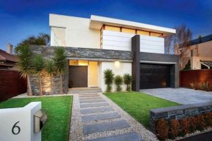 Modern and Contemporary Front Yard Landscaping Ideas 79
