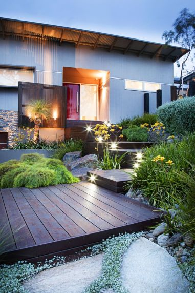 Modern and Contemporary Front Yard Landscaping Ideas 8
